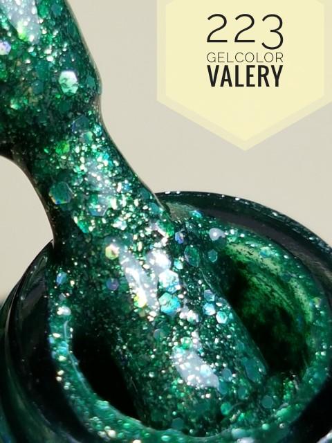 223 Bos Groene Glitters Gellak