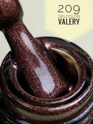 209 Bruine Shimmer Gellak