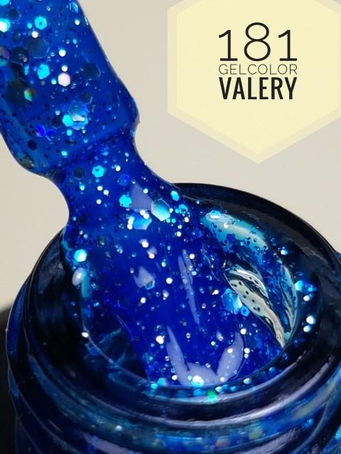 181 Donker Poederblauwe Glitters Gellak