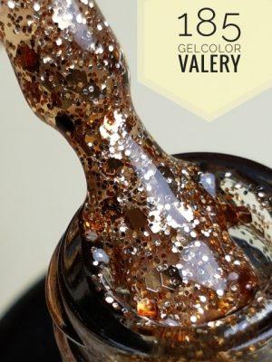 185 Doorzichtige Bronze Glitter Gellak