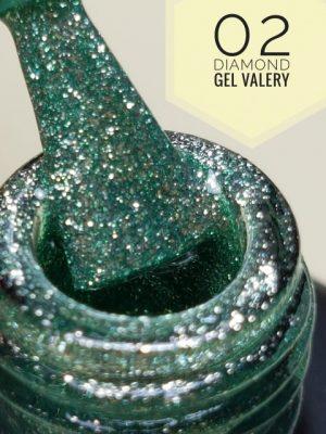 02 Jade Shimmer DIAMOND Gellak