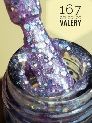 167 Lichte Violet Glitter Gellak