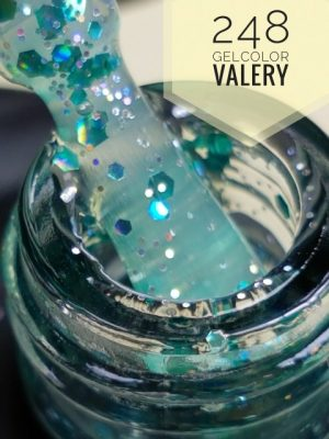248 Ocean Glitter Gellak