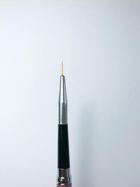 Nail art penseel 9 mm
